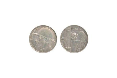 20 Lire 1928 Elmetto
