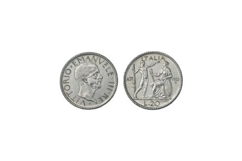 20 Lire 1928