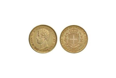 20 Lire 1834 T