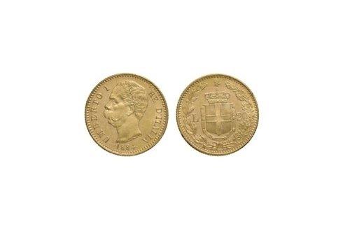 20 Lire 1884