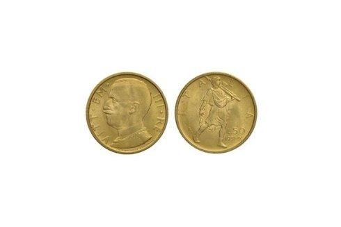 50 Lire 1931 A. IX
