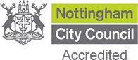 Nottingham City Council Certification logo