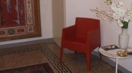 Sala d'attesa dello studio di consulenza aziendale