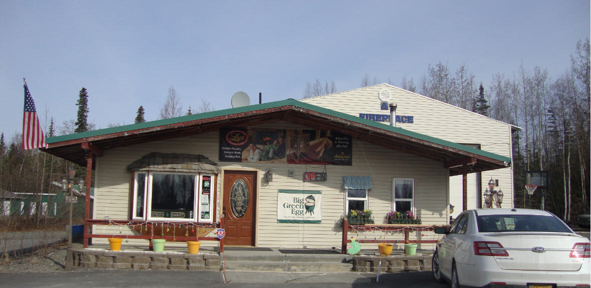 wood and gas burning fireplaces in Soldotna, AK