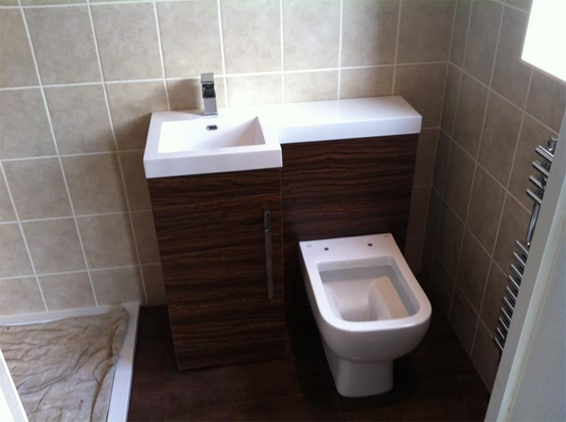 newly fitted WC