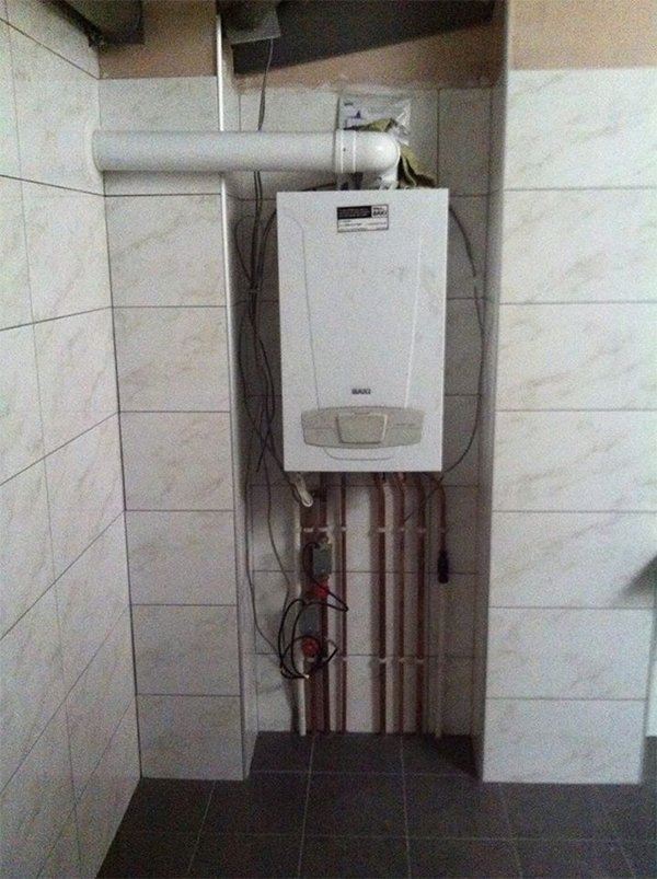 newly fitted boiler