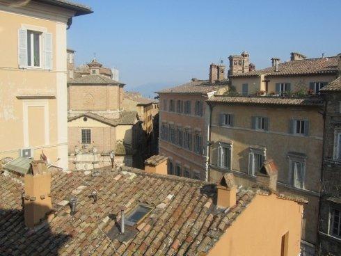 immagine dall`alto di Perugia
