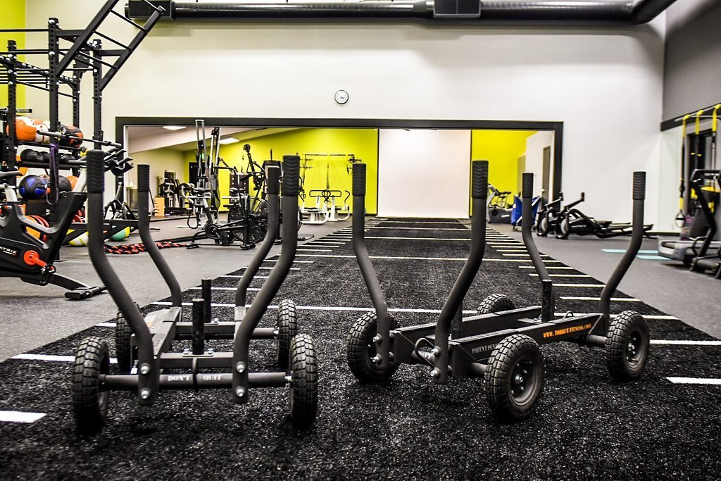Big c builds state of the art functional fitness training room