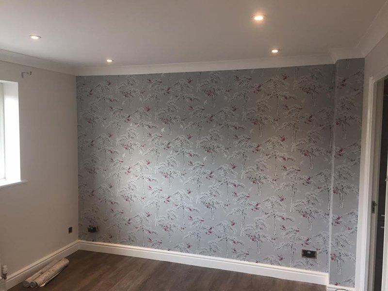 elegant wall paper