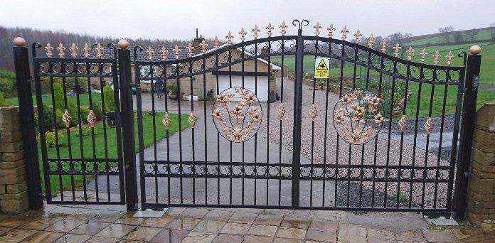 bespoke automated driveway gates