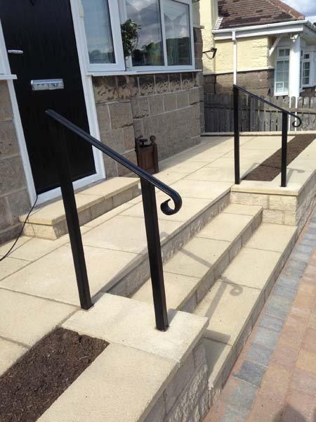 single railing