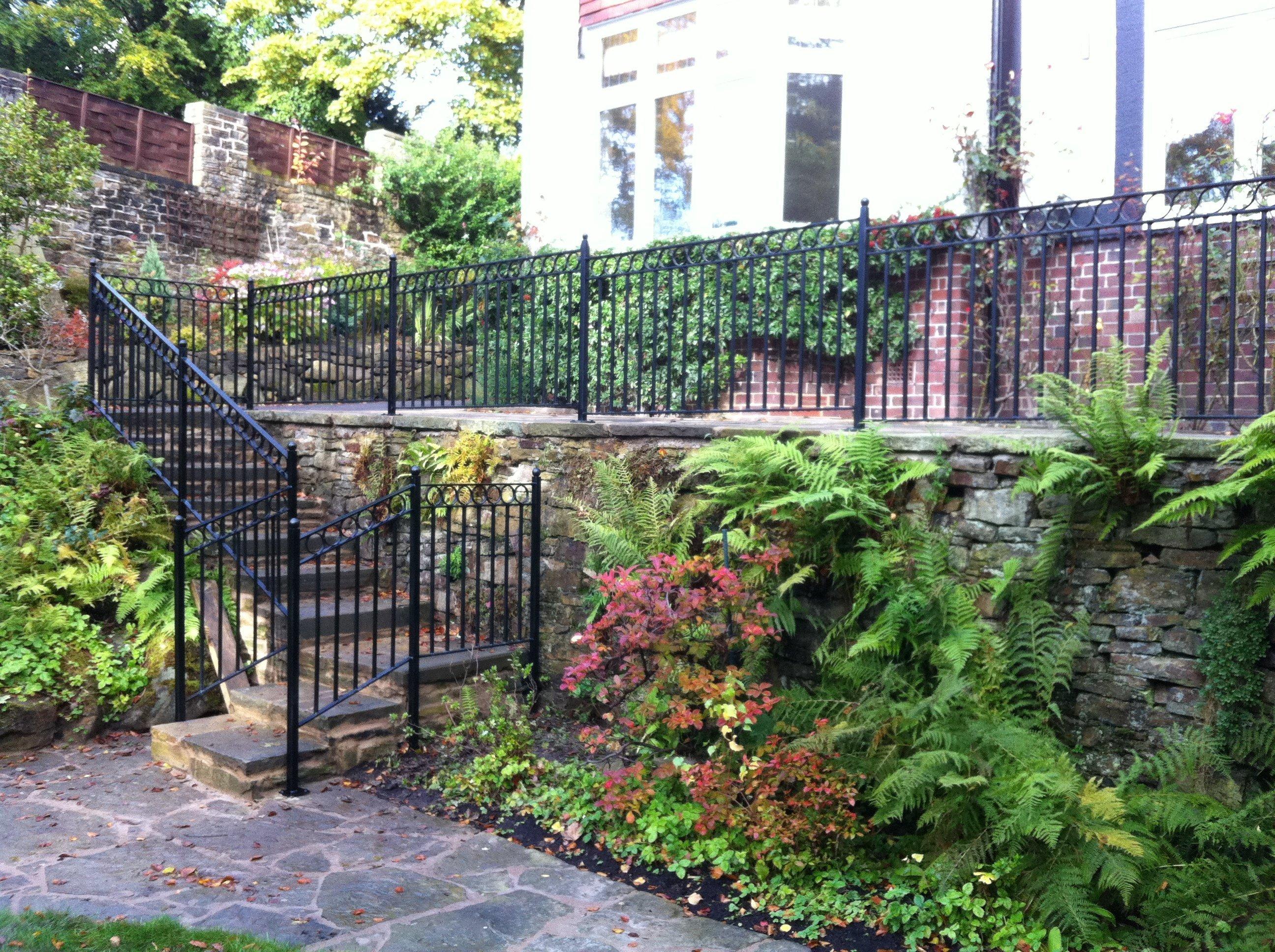 railing for garden