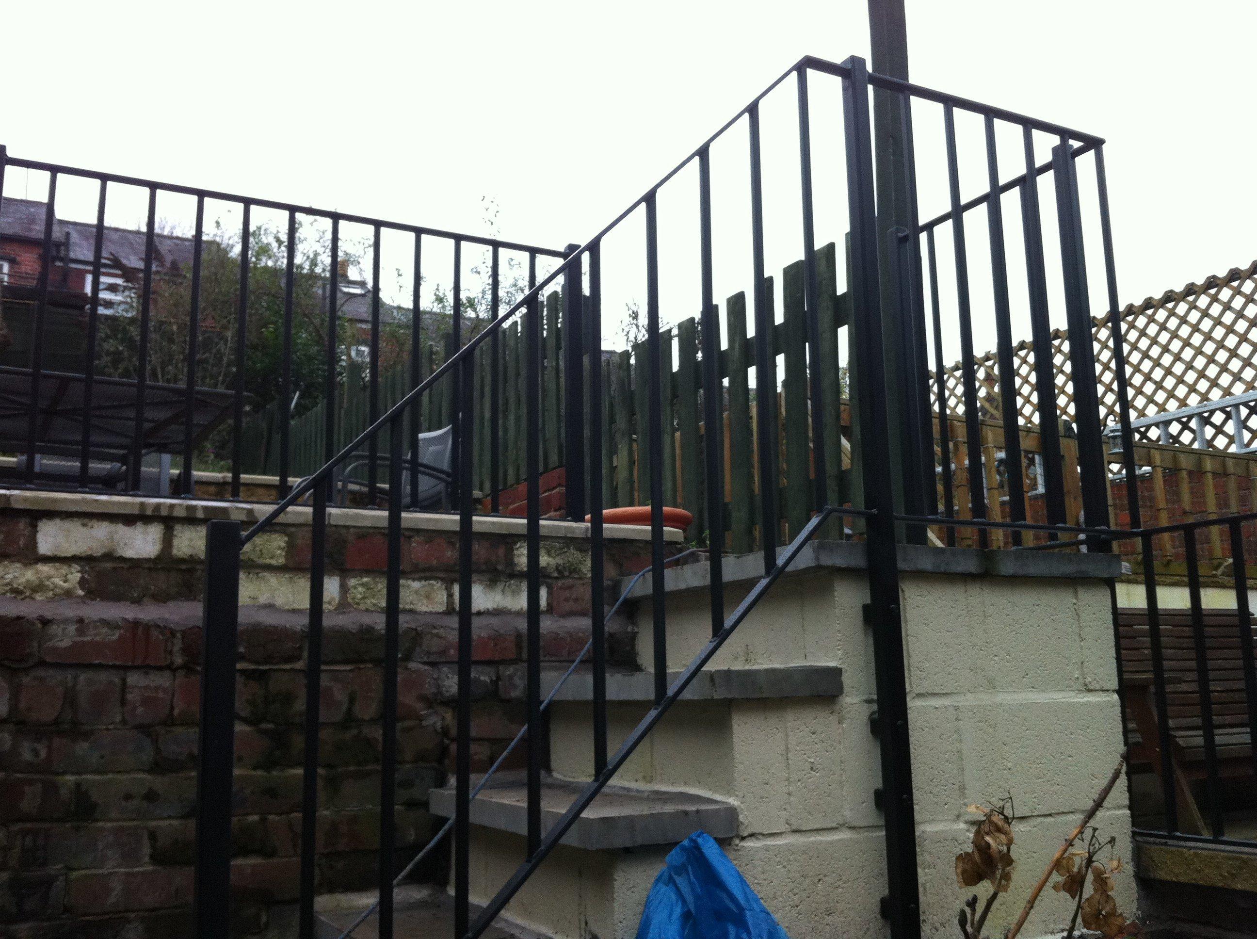 bespoke railing