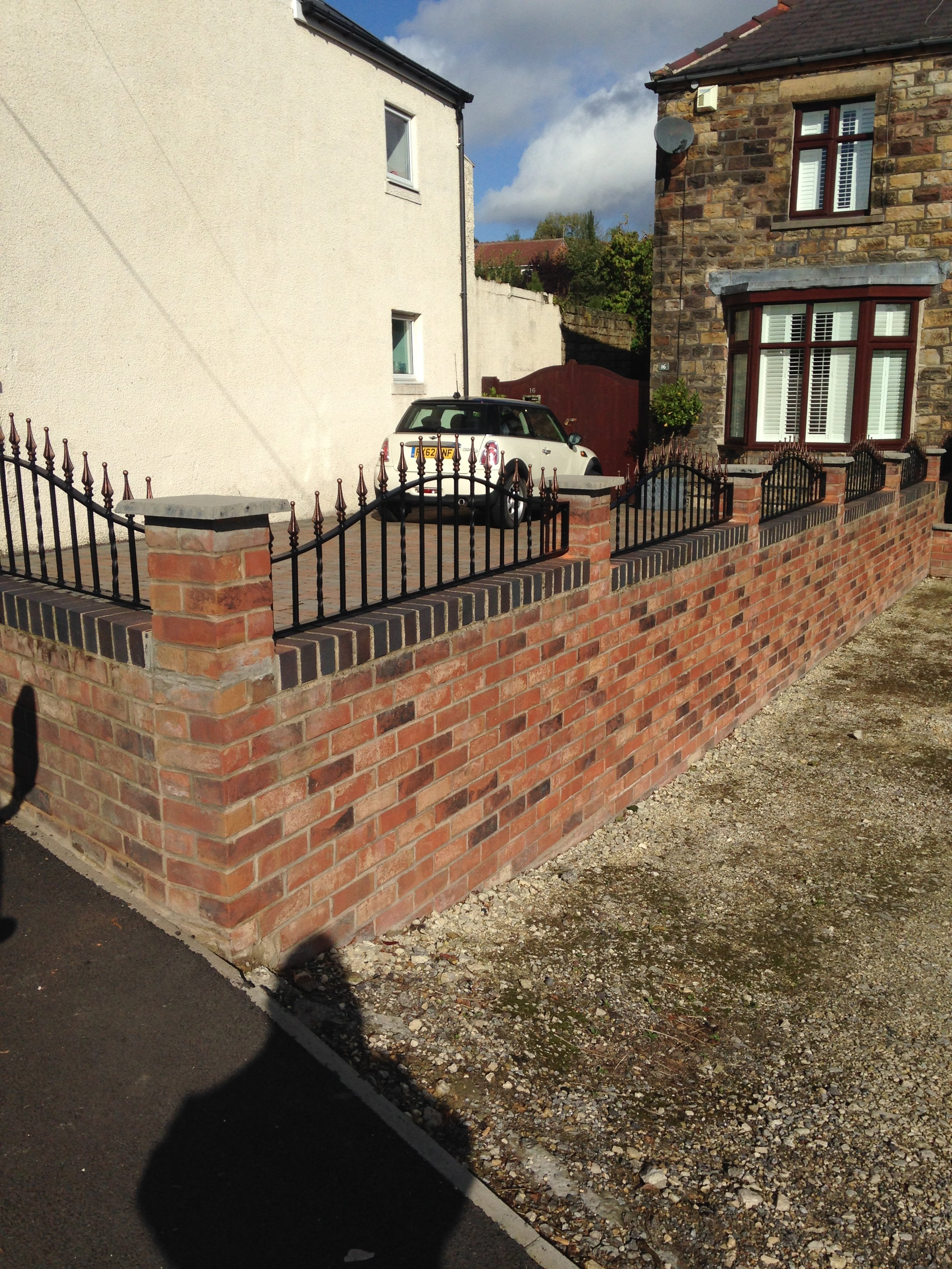 railing for domestic buildings