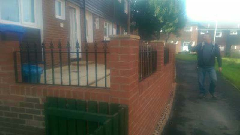 home railings