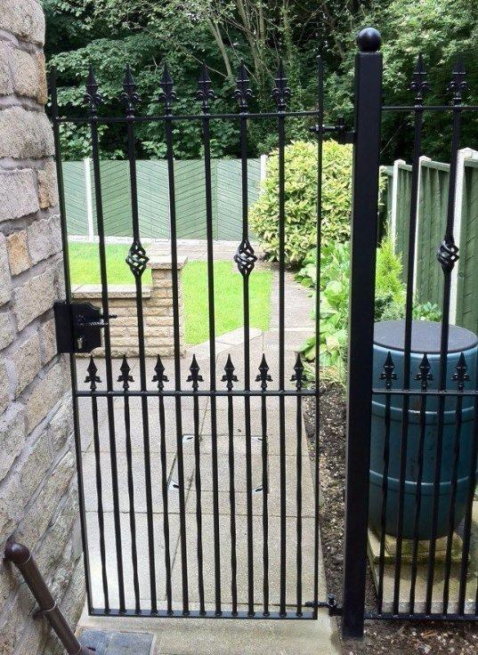 single garden gate
