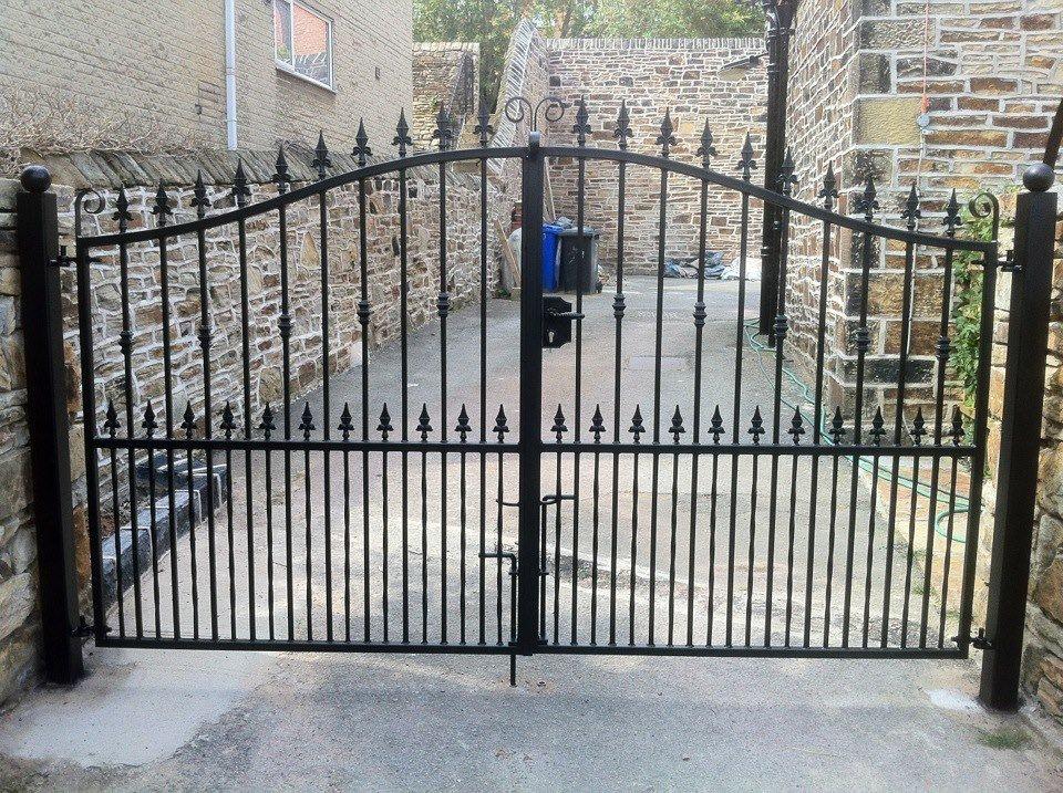steel arch gates