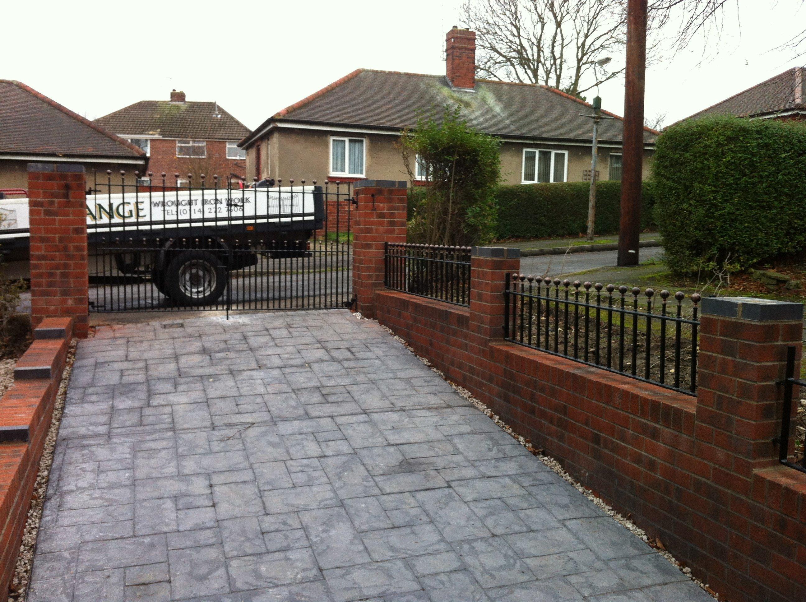 bespoke Drive home gates