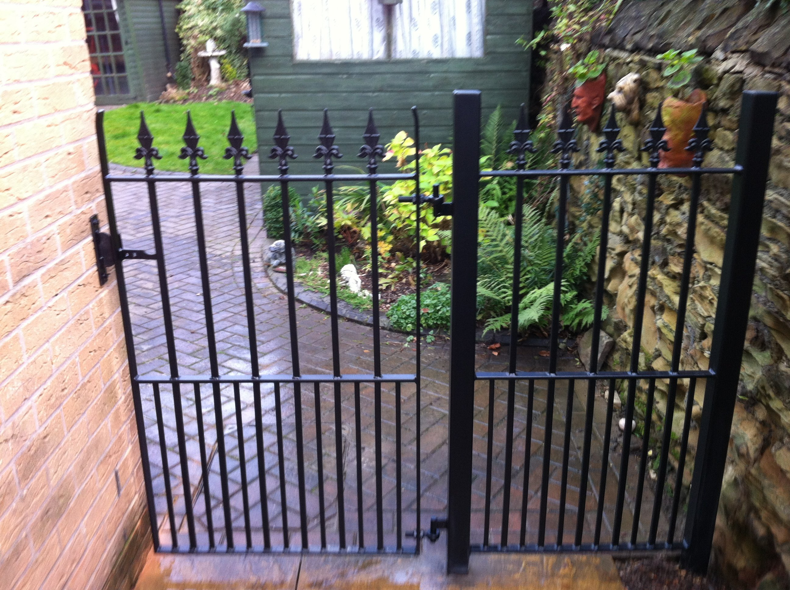 custom metal garden gates
