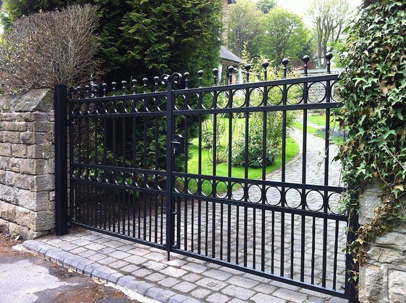 house gates Driveway Metal