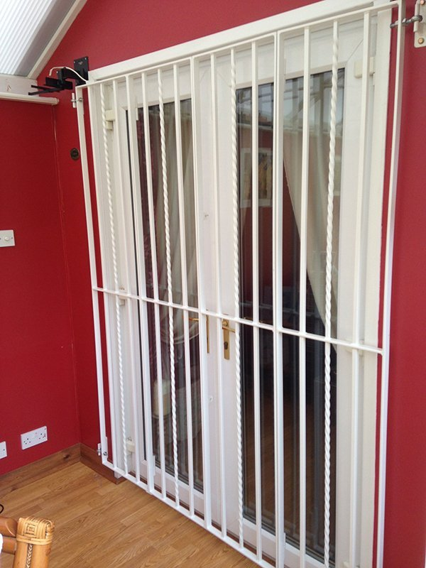 internal security gate installation