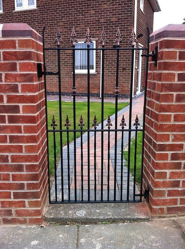 garden small gate metal designers