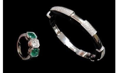 Bracciali in smeraldo Gioielleria Pivano Martino