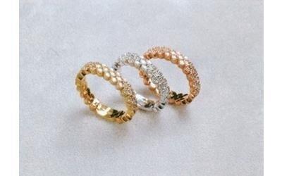 Tris anelli Gioielleria Pivano Martino
