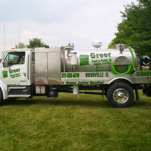 line of portable toilet rentals in Rushville, IL