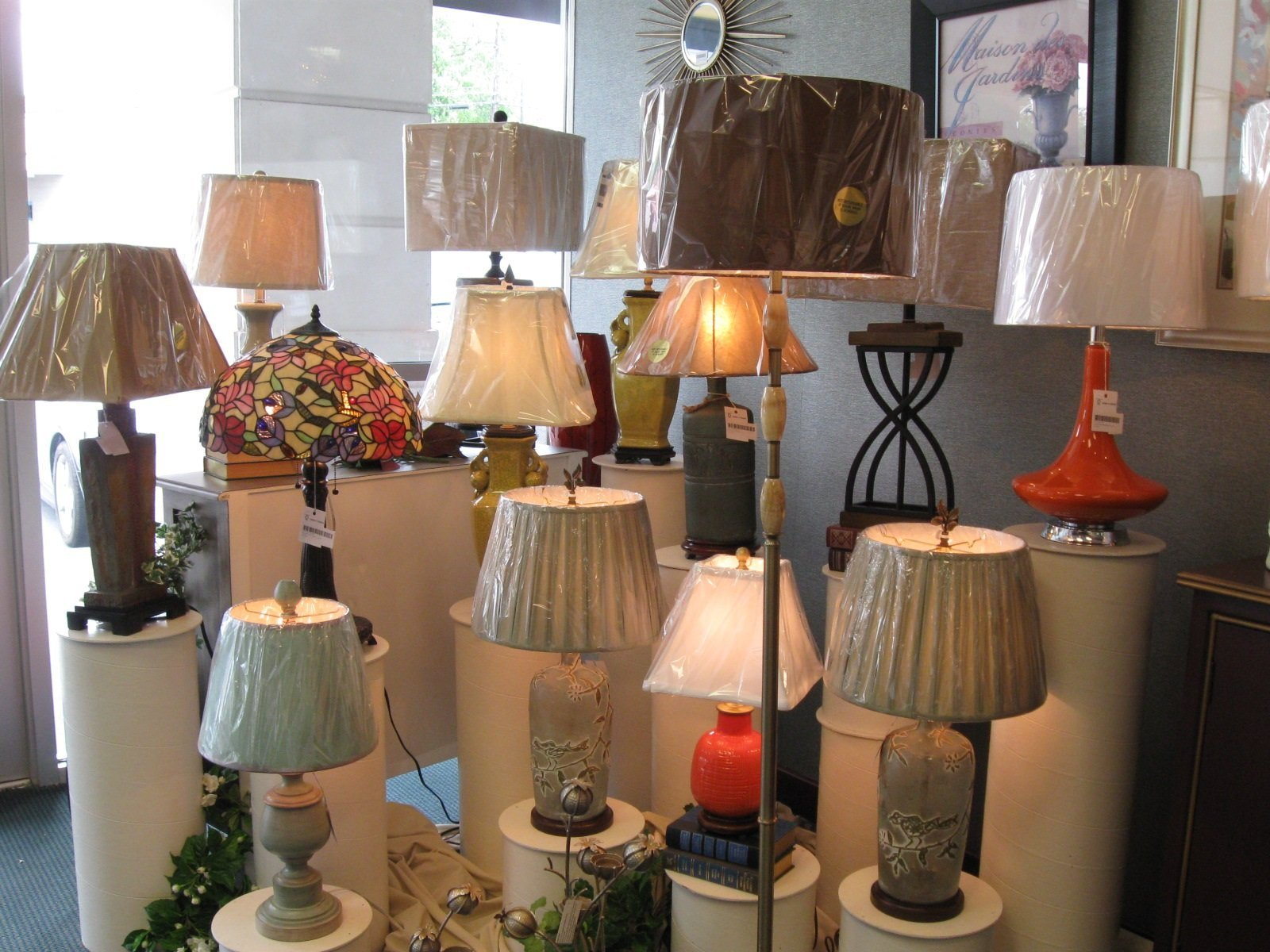 Lamps shades winston salem nc table lamps we want your shopping experience to be a pleasurable one and we work hard to make that happen geotapseo Images