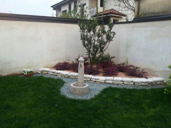 Impianti d 39 irrigazione arluno mi giardinaggio fontana for Aiuole sempreverdi
