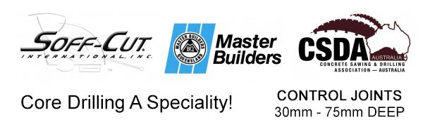 fraser coast concrete sawing accredited logos