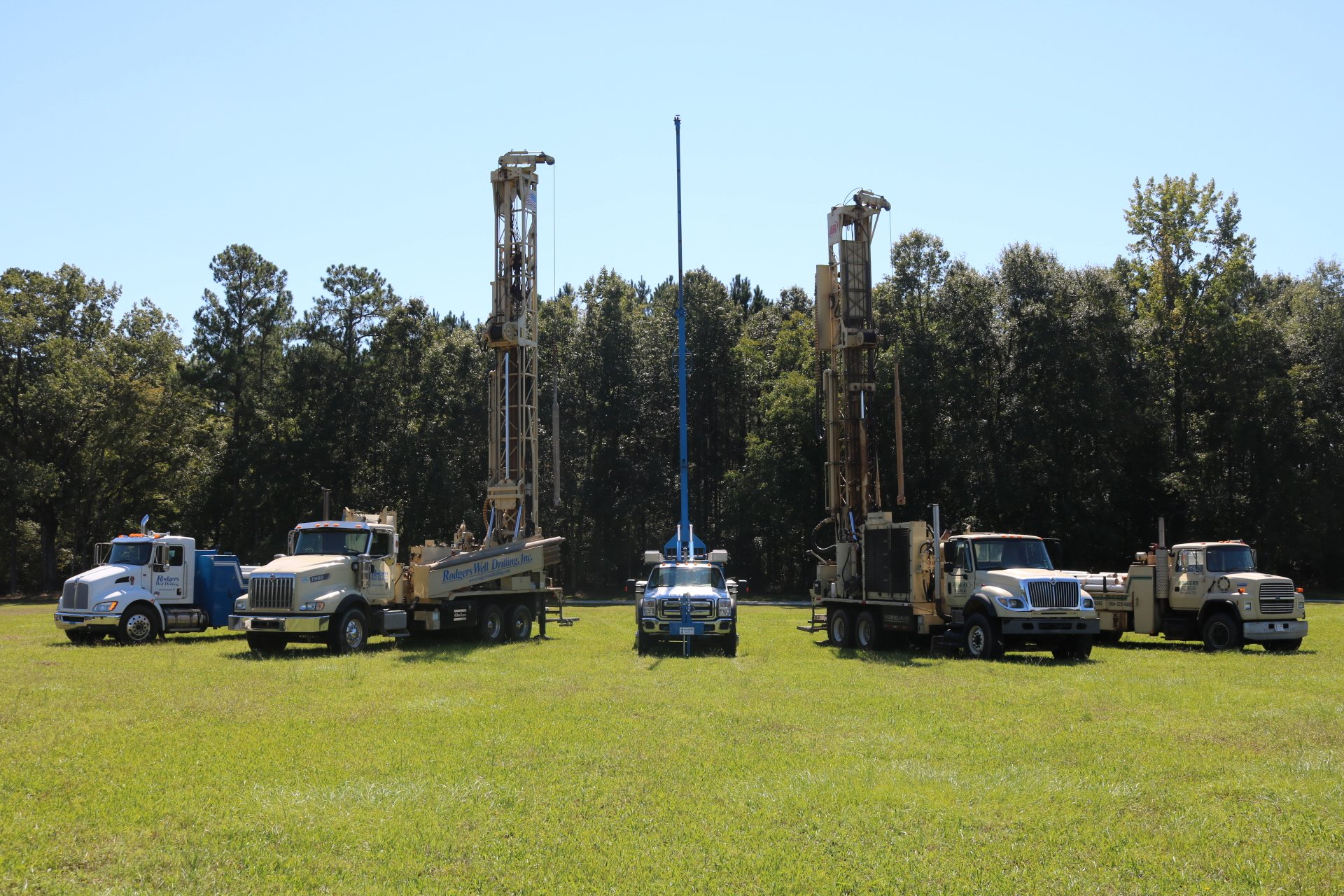Well Drilling Companies Greenville, SC