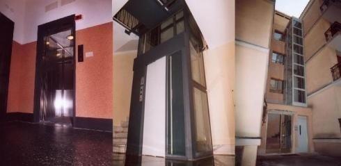 ascensore vetro