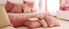 letto, cuscini, alzata letto