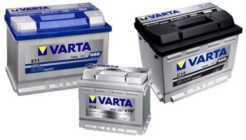 batterie a marchio VARTA