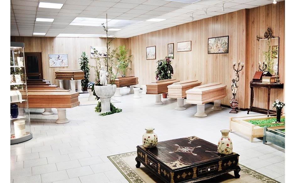 la sede Impresa Funebre Brughera