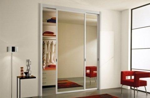 cabina armadio specchio