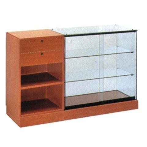 espositore legno vetro