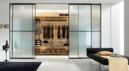cabina armadio vetro