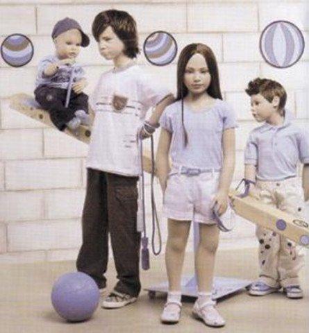 manichini bambini