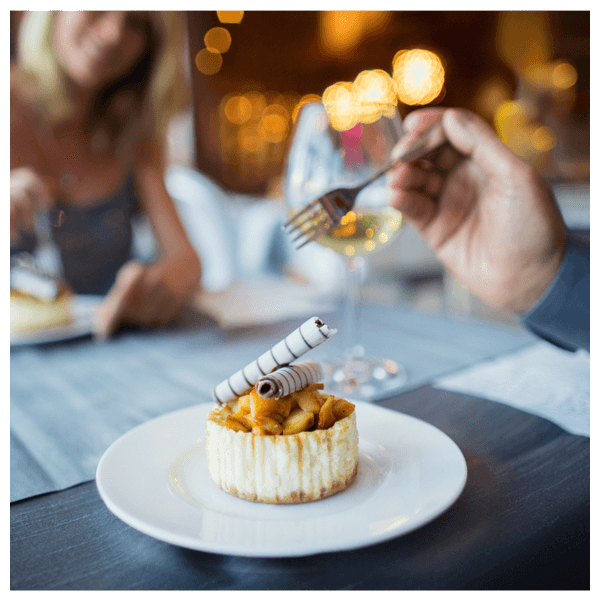 Tasty looking dessert