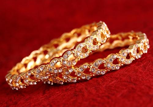 Bracciali in oro con diamanti