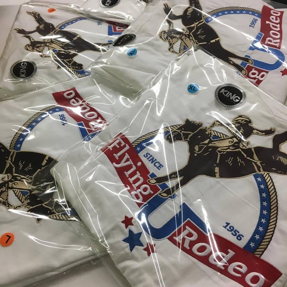 Rodeo screen printing shirts