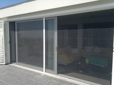 delle porte finestre scorrevoli