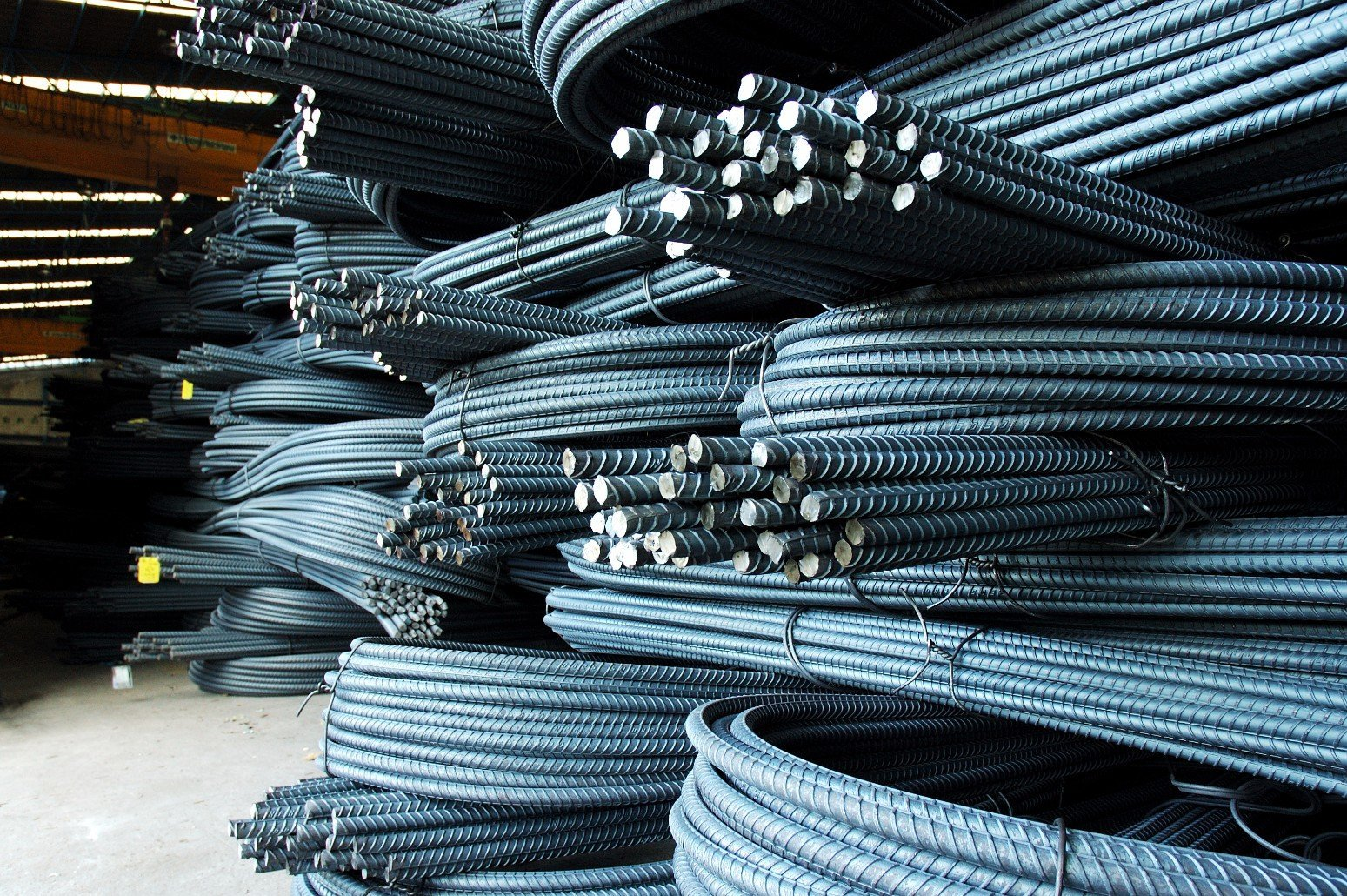 materiali in ferro da cantiere