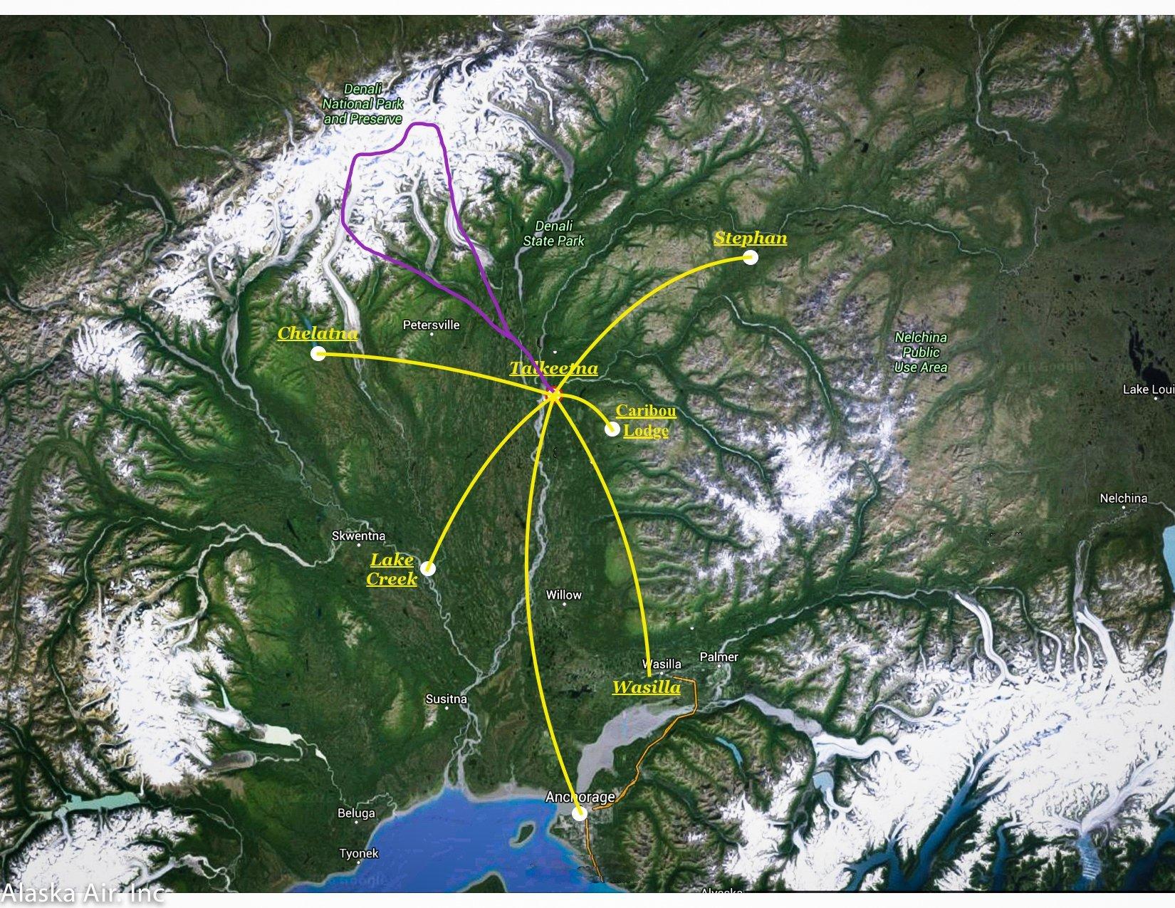 Alaska Charter Flights