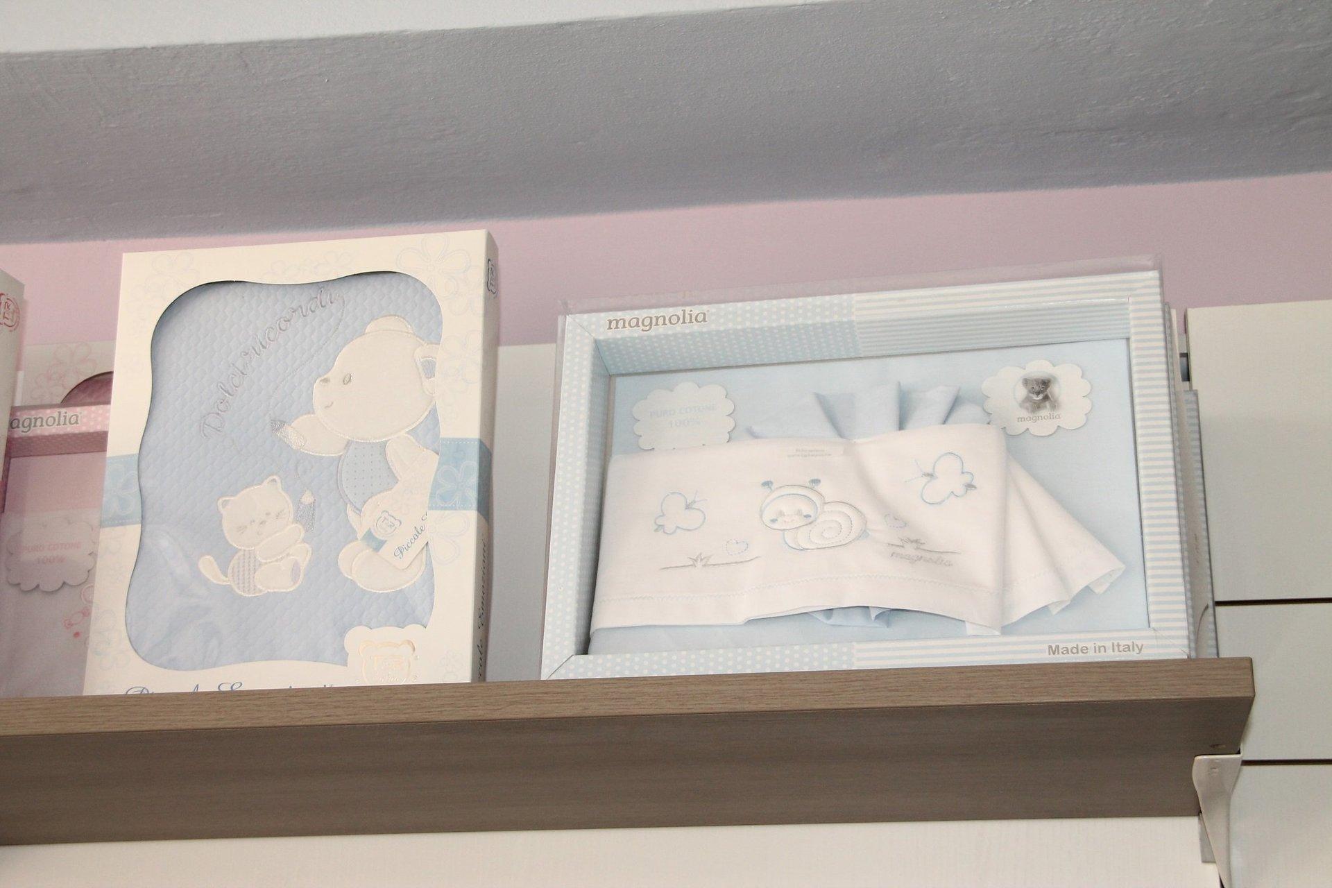 intimo per neonato