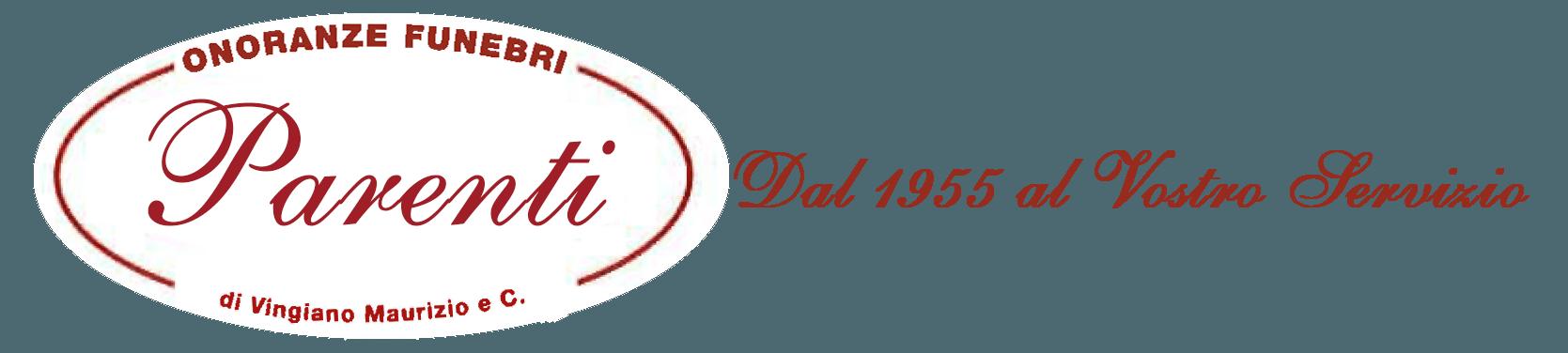 Logo Onoranze Funebri Parenti