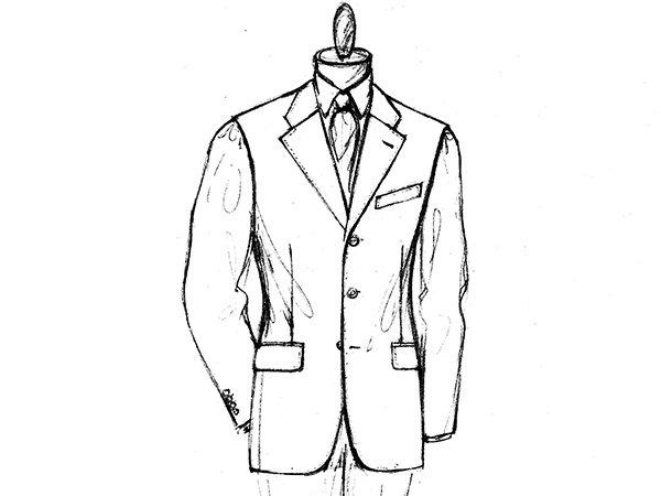 Vestito da uomo